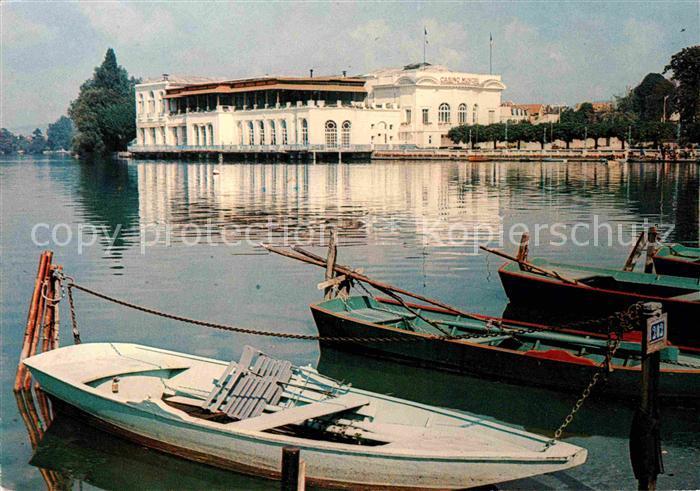 AK / Ansichtskarte Enghien les Bains Casino et le Lac Kat. Enghien les Bains