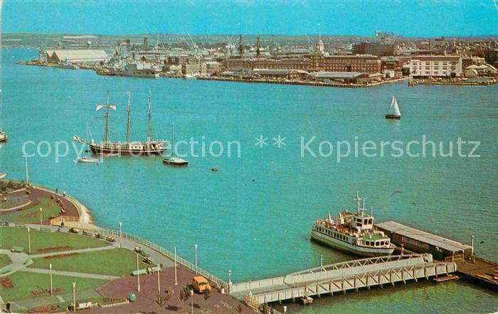 AK / Ansichtskarte Portsmouth Habour Kat. Portsmouth