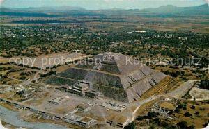 AK / Ansichtskarte Teotihuacan Fliegeraufnahme Archaeological Zone Kat. San Juan Teotihuacan Mexiko