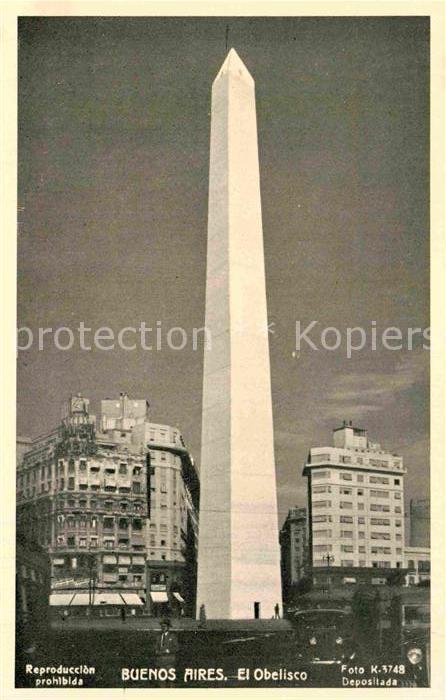 AK / Ansichtskarte Buenos Aires Obelisk Kat. Buenos Aires
