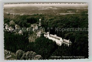 AK / Ansichtskarte Leichlingen Rheinland Sanatorium Roderbirken Luftbild Kat. Leichlingen (Rheinland)