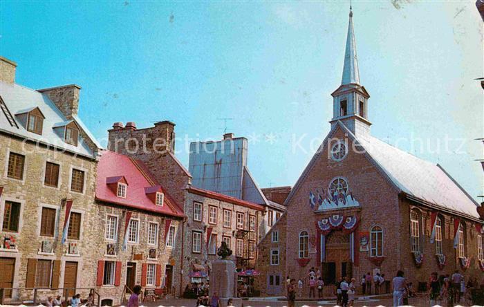AK / Ansichtskarte Quebec Eglise Notre Dame des Victoires Kat. Quebec