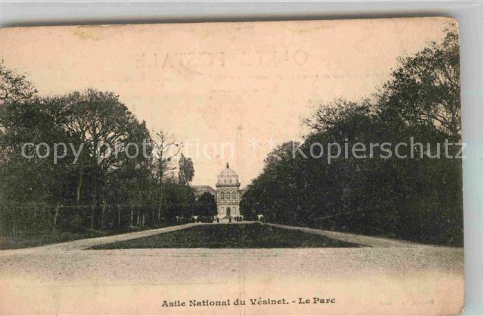AK / Ansichtskarte Vesinet Le Asile National Park Kat. Le Vesinet