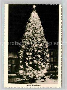 AK / Ansichtskarte Wermelskirchen Mammutkiefer Naturweihnachtsbaum Winter Kat. Wermelskirchen