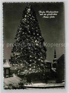 AK / Ansichtskarte Wermelskirchen Mammutkiefer Weihnachtsgrusskarte Kat. Wermelskirchen
