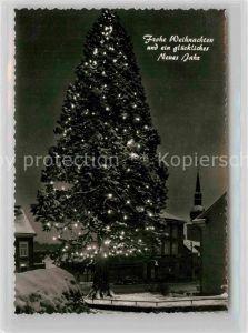 AK / Ansichtskarte Wermelskirchen Mammutkiefer Weihnachtsbeleuchtung  Kat. Wermelskirchen