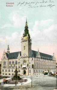 AK / Ansichtskarte Elberfeld Wuppertal Rathaus Kat. Wuppertal