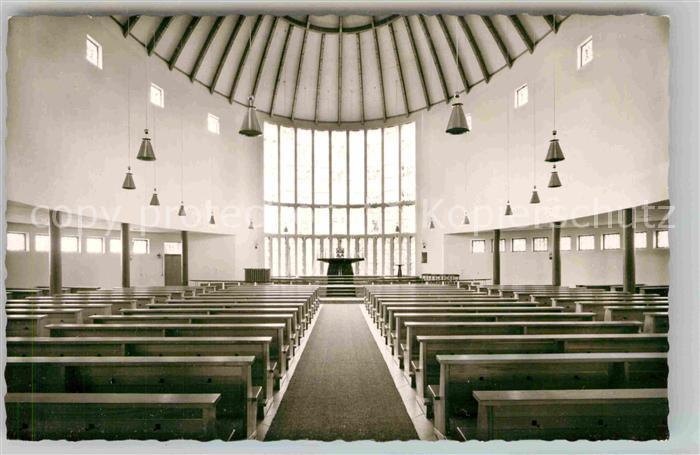 AK / Ansichtskarte Haan Rheinland Katholische Kirche innen Kat. Haan