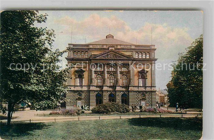 AK / Ansichtskarte Elberfeld Wuppertal Stadttheater Kat. Wuppertal