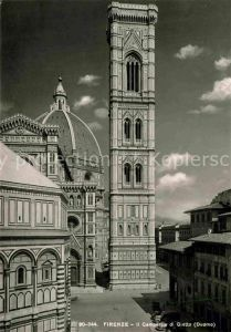 AK / Ansichtskarte Firenze Toscana Il Campanile di Giotto Duomo Kat. Firenze