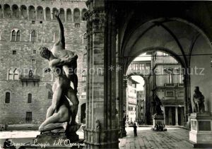 AK / Ansichtskarte Firenze Toscana Loggia dell Orcagna Kat. Firenze