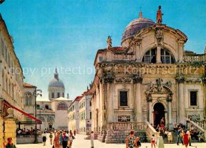 AK / Ansichtskarte Dubrovnik Ragusa Crkva sv. Blaza Kat. Dubrovnik