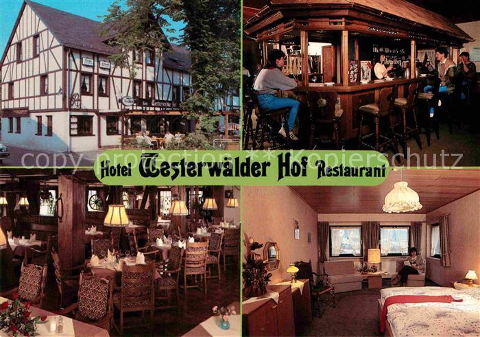 AK / Ansichtskarte Bad Marienberg Hotel Restaurant Westerwaelder Hof