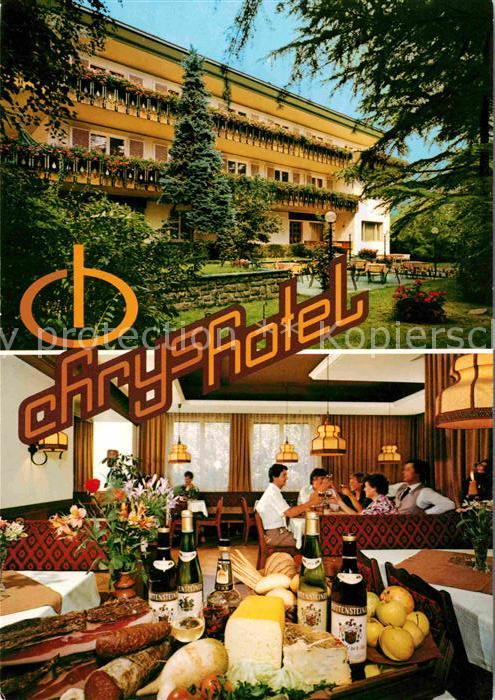 AK / Ansichtskarte Bozen Suedtirol Hotel Chrys Kat. Bozen Suedtirol