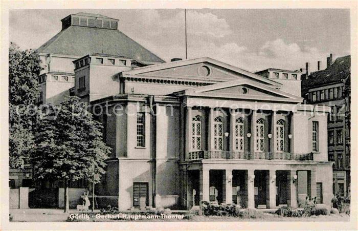 AK / Ansichtskarte Goerlitz Sachsen Gerhart Hauptmann Theater Kat. Goerlitz
