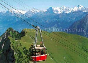 AK / Ansichtskarte Erlenbach Simmental Stockhornbahn  Kat. Erlenbach Simmental
