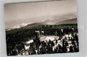 AK / Ansichtskarte Astenberg Aussichtsturm Winter Kat. Schmallenberg