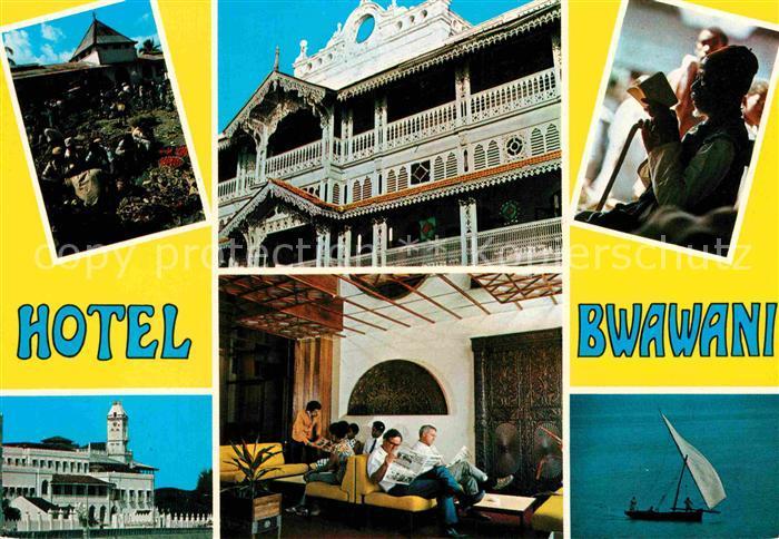 AK / Ansichtskarte Zanzibar Hotel Bwawani Teilansichten Kat. Zanzibar