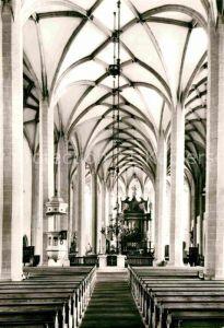 AK / Ansichtskarte Dresden Wallfahrtskirche St Petri Inneres Kat. Dresden Elbe
