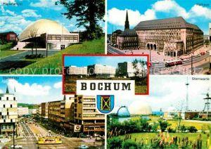 AK / Ansichtskarte Bochum Planetarium Rathaus Stadtmitte Sternwarte Kat. Bochum