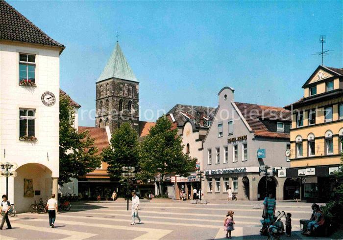 AK / Ansichtskarte Rheine Am Borneplatz Kat. Rheine