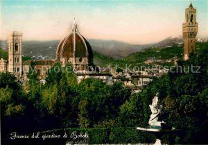 AK / Ansichtskarte Firenze Toscana dal giardino di Boboli Kat. Firenze