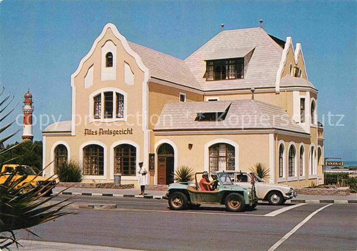 AK / Ansichtskarte Swakopmund Altes Amtsgericht Leuchtturm  Kat. Swakopmund