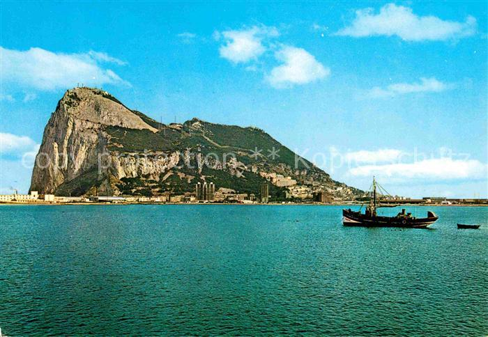 AK / Ansichtskarte Gibraltar Le Rocher de Gibraltar Kat. Gibraltar