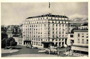 AK / Ansichtskarte Geneve GE Hotel Cornavin Kat. Geneve