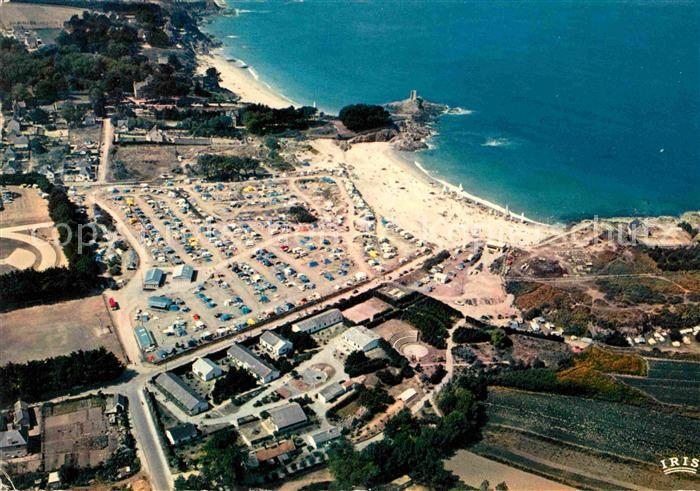 Ak ansichtskarte dinard ille et vilaine bretagne vue generale aerienne des plages du port - Camping le port blanc dinard ...