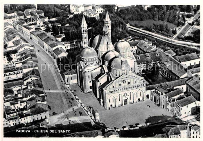 AK / Ansichtskarte Padova Basilica del Sant Antonio Basilika vista dall aereo Kat. Padova