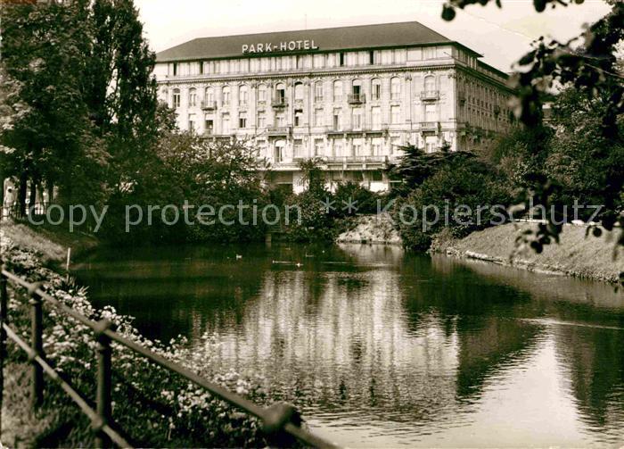 AK / Ansichtskarte Duesseldorf Parkhotel Kat. Duesseldorf