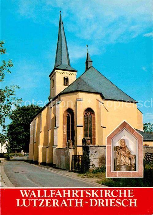 AK / Ansichtskarte Lutzerath Wallfahrtskirche  Kat. Lutzerath