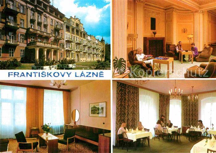 AK / Ansichtskarte Frantiskovy Lazne Lazensky duem Pawlik Kat. Franzensbad