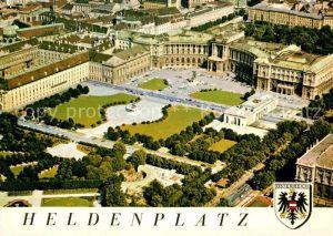 AK / Ansichtskarte Wien Fliegeraufnahme Heldenplatz Kat. Wien