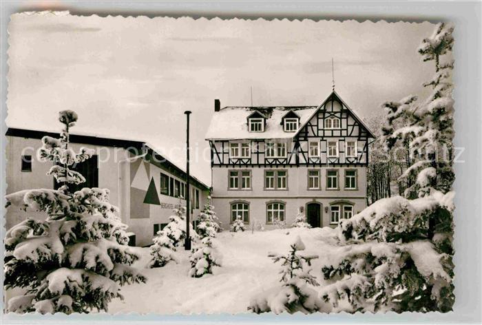 AK / Ansichtskarte Hoheleye Berghotel Auf der Hoheleye Kat. Winterberg