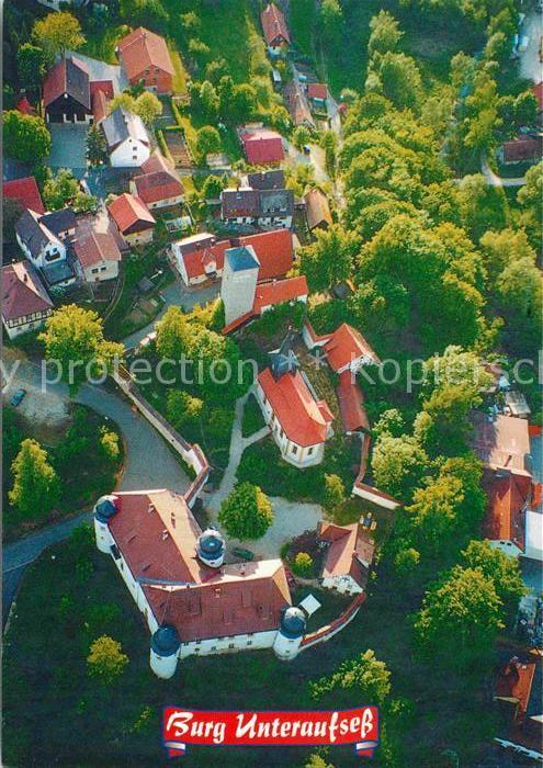 AK / Ansichtskarte Aufsess Fliegeraufnahme Brauereigasthof Sonnenhof Kat. Aufsess