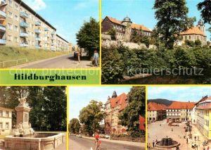 AK / Ansichtskarte Hildburghausen Neubaugebiet An der Alten Stadtmauer Leninallee Markt Kat. Hildburghausen