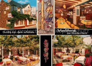 AK / Ansichtskarte Walbeck Rheinland Gaststaette Haus Schopmanns Terrasse Kat. Geldern