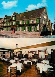 AK / Ansichtskarte Wermelskirchen Hotel Zur Eich Gastraum Kat. Wermelskirchen