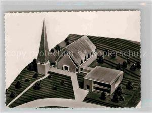 AK / Ansichtskarte Arnsberg Westfalen Baustein Neubau evangelische Kirche Kat. Arnsberg