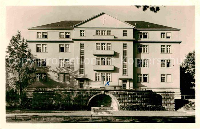 AK / Ansichtskarte Frankfurt Main Krankenhaus Bethanien  Kat. Frankfurt am Main