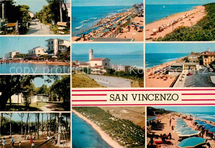 Toskana Strand Karte.Ak Ansichtskarte San Vincenzo Toscana Strand Fliegeraufnahme Kat San Vincenzo