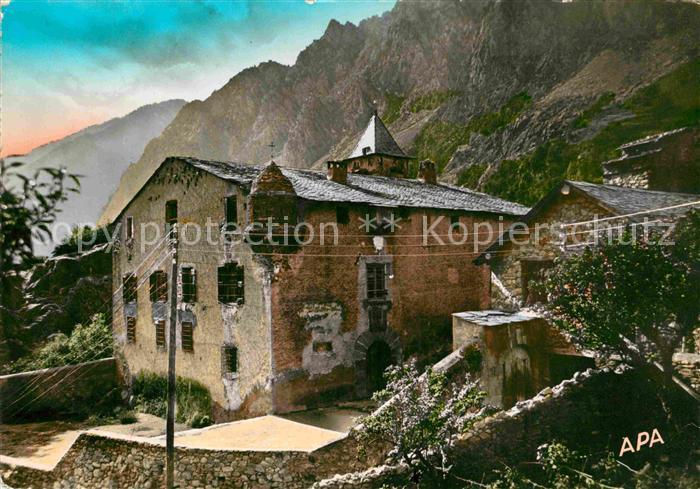 AK / Ansichtskarte Valls d Andorra Casa la Vall