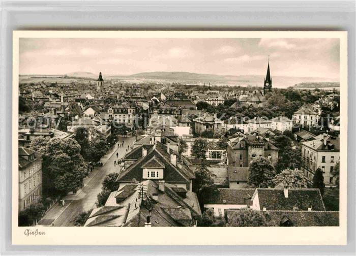 AK / Ansichtskarte Giessen Lahn Panorama Blick ueber die Stadt Kat. Giessen