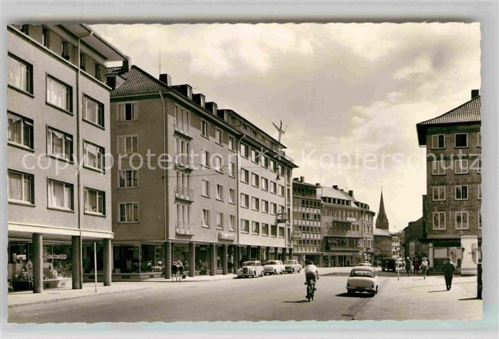 AK / Ansichtskarte Giessen Lahn Kirchplatz Universitaetsstadt Kat. Giessen