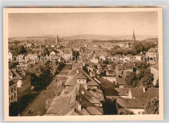 AK / Ansichtskarte Giessen Lahn Panorama Blick ueber die Stadt Kupfertiefdruck Kat. Giessen