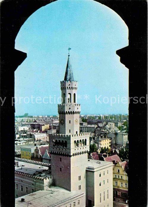 AK / Ansichtskarte Opole Oberschlesien Ratusz Kat. Oppeln Oberschlesien