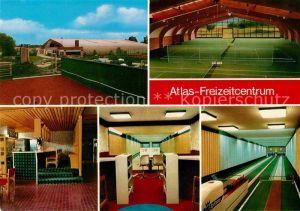 AK / Ansichtskarte Ganderkesee Atlas Freizeitcentrum Tennishalle Kegelbahnen Kat. Ganderkesee