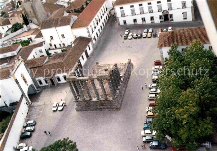 AK / Ansichtskarte Evora Patrimonio Mundial Templo de Diana Kat. Evora